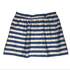 Lilly Pulitzer Skirts - Lilly Pulitzer Blue Stripe Mimosa Mini Skirt